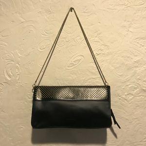Calvin Klein Black PU Shoulder Bag